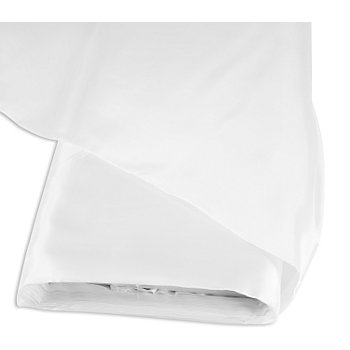 Tissu taffetas uni, blanc