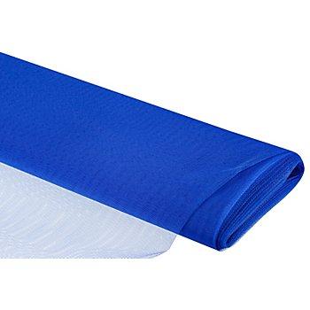 Tissu tulle, bleu roi
