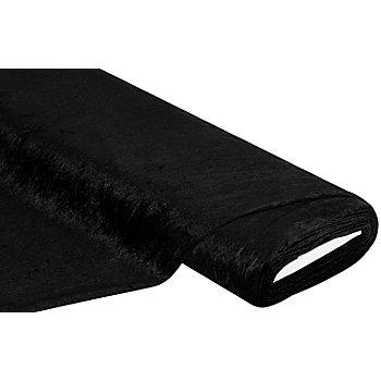 Panne de velours, noir