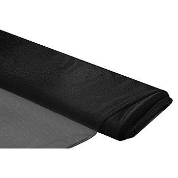 Tissu tulle souple, noir
