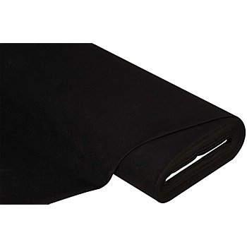Filz, Stärke 0,9 mm, schwarz