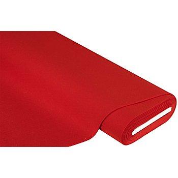 Feutrine épaisse, rouge, 4 mm