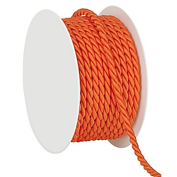 Kordel, orange, 4 mm, 10 m