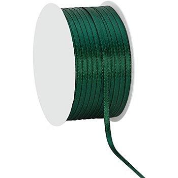Satinband, dunkelgrün, 3 mm, 50 m