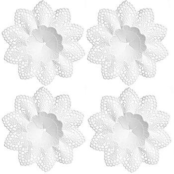 Collerettes décoratives, 10 cm Ø, 4 pièces