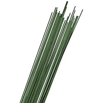 Fil de fer à tiger, 1,5 mm, vert, 50 pièces