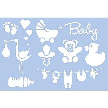 buttinette Schablone 'Baby'