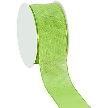 Stoffband, hellgrün, 40 mm, 10 m
