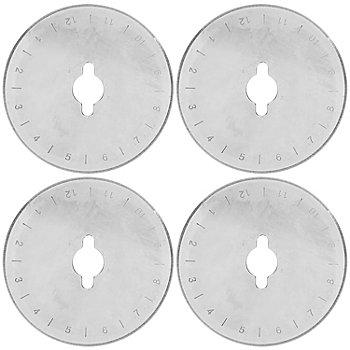 Ersatzklingen für Rollschneider, 45 mm Ø