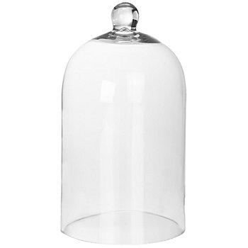 Cloche en verre, 20 cm, 11 cm Ø