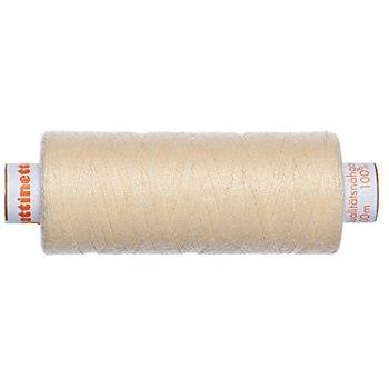 buttinette Universal-Nähgarn, Stärke: 100, 500m-Spule, sekt