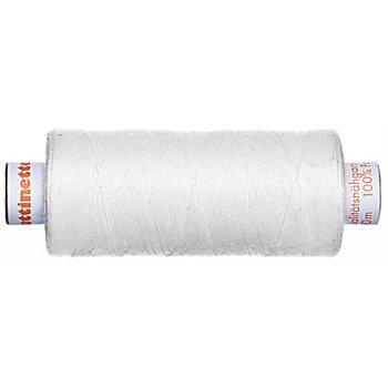 buttinette Universal-Nähgarn, Stärke: 100, 500m-Spule, weiß