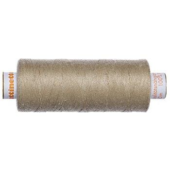 buttinette Universal-Nähgarn, Stärke: 100, 500m-Spule, beige