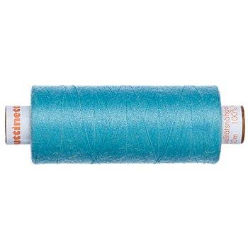 buttinette Fil à coudre universel, turquoise clair, grosseur : 100, bobine de 500 m