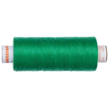 buttinette Universal-Nähgarn, Stärke: 100, 500m-Spule, grasgrün