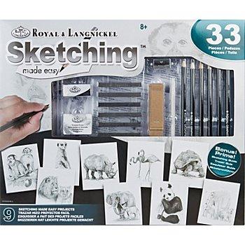 Vorteilsset Malen nach Zahlen mit Bleistiften & Graphitstäben