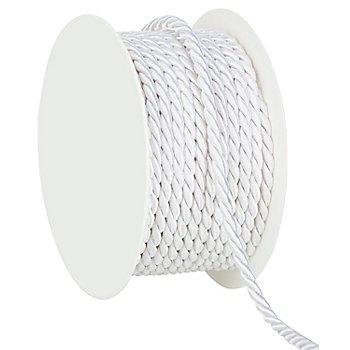 Kordel, weiß, 4 mm, 10 m