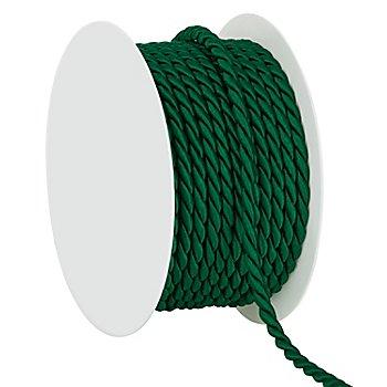 Kordel, dunkelgrün, 4 mm, 10 m