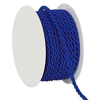 Kordel, blau, 4 mm, 10 m