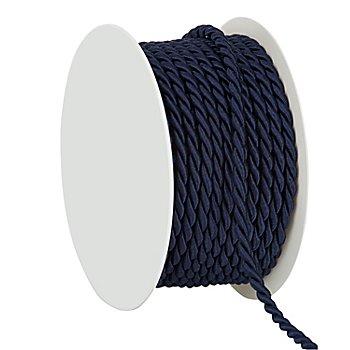 Kordel, dunkelblau, 4 mm, 10 m