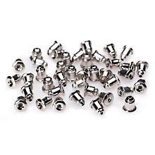 Arrêt de perles, argent, 5 mm, 100 pièces