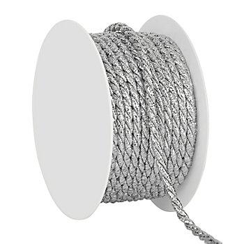 Kordel, silber, 4 mm, 10 m