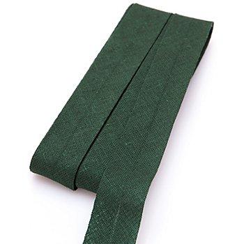 buttinette Baumwoll-Schrägband, tanne, Breite: 2 cm, Länge: 5 m