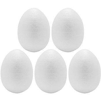Styropor-Eier, in verschiedenen Größen