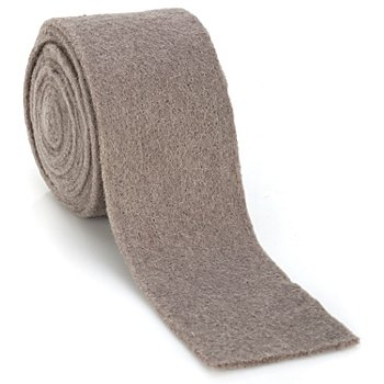 Filzband, taupe, 7,5 cm, 3 m