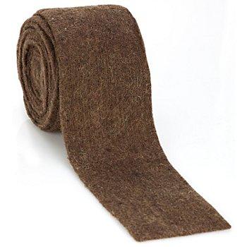 Ruban multi-usage en laine, marron, 7,5 cm, 3 m