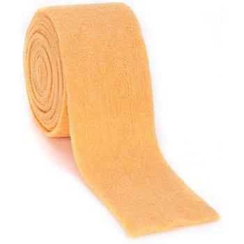 Filzband, gelb, 7,5 cm, 3 m