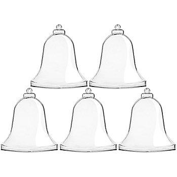 Kunststoff-Formen 'Glocke', 9 cm, 5 Stück