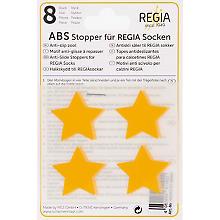 Regia ABS-Stopper 'Sterne', gelb