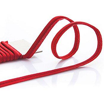 buttinette Baumwoll-Paspelband, rot, 4 mm Ø, 5 m