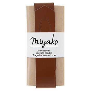 Lederriemen 'Miyako' für Taschen, braun