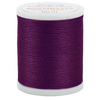 Original buttinette Sticktwist, purpur, 50 m