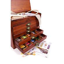 DMC Boîte de rangement avec fils à broder, contenu : 500 écheveaux