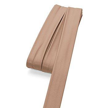 buttinette Kunstleder-Einfassband, hellbraun, 2 cm, Länge: 5 m