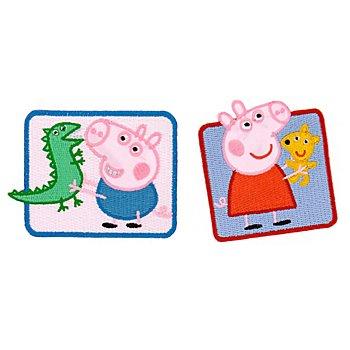 Applikationen 'Peppa Pig®', Größe: 6–8 cm, Inhalt: 2 Stück
