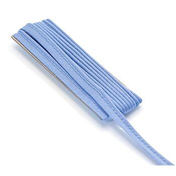 buttinette Jersey-Paspelband, jeans, 3 mm Ø, 3 m