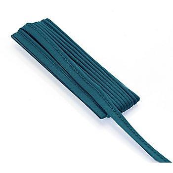 buttinette Jersey-Paspelband, petrol, 3 mm Ø, 3 m