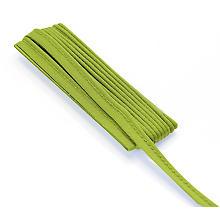buttinette Passepoil en jersey, vert clair, 3 mm Ø, 3 m