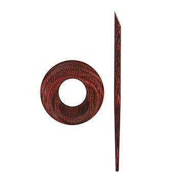 KnitPro Schalspange 'Orion', Birkenholz, Grösse: 4,7 cm Ø