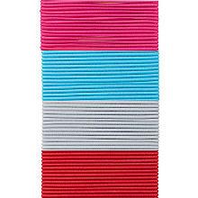 buttinette Set de cordons élastiques 'fins', 1,5 mm Ø, 4x 3 m