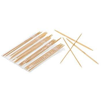 buttinette Strumpfstricknadel-Set, Bambus, Stärken: 2-4