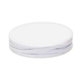 Gummiband 'Standard-Elastik', weiss, 5 mm, 25m-Rolle
