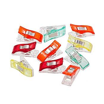 Kleiber Pinces pour tissus, 2,7 x 1 cm, contenu : 10 pièces