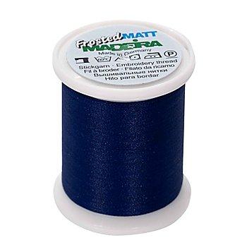 MADEIRA Stickgarn 'Frosted Matt', Stärke: 40, 500m-Spule, navy blue