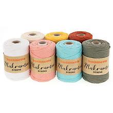 buttinette Makramee-Garn, einfach verzwirnt, Stärke: 3 mm, Länge: 150 m