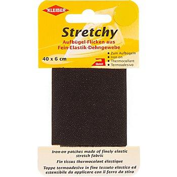 Kleiber Stretchy-Bügel-Flicken, Größe: 40 x 6 cm, schwarz